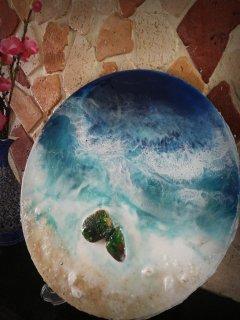 فروش دست سازه های رزینی- هنری- نقاشی- دکوری
